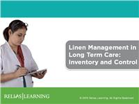 Linen Management in Long Term Care: Inventory and Control